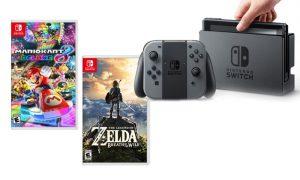 Nintendo switch games zelda mario