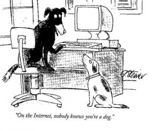 Internet dog meme