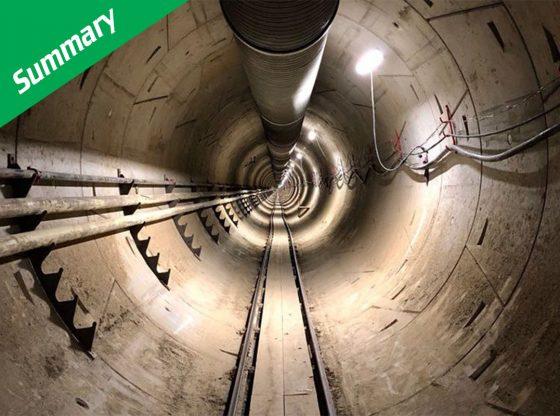 boring company elon musk tunnel westside