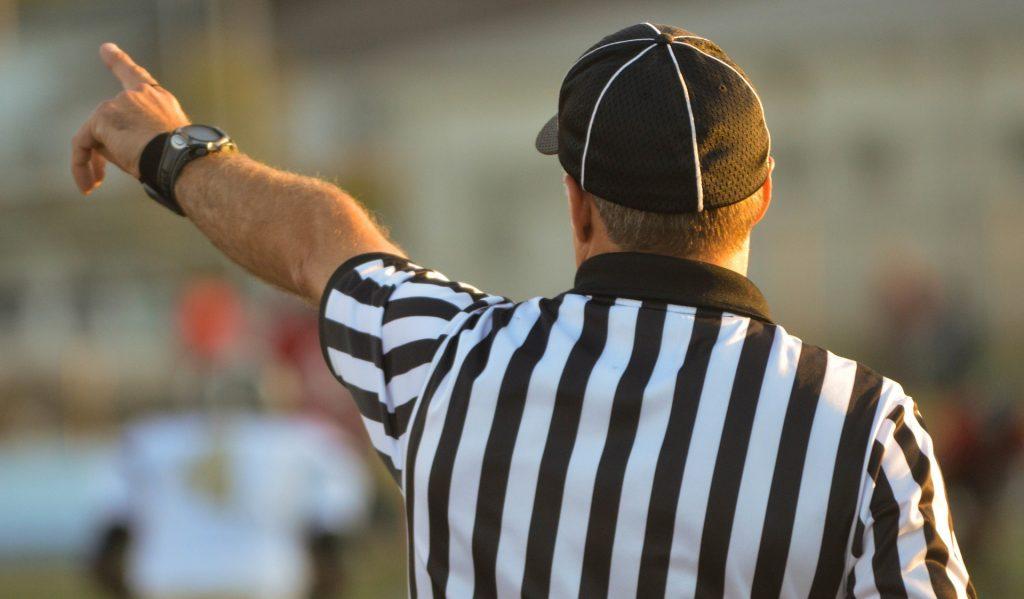 referee fairness out unfair