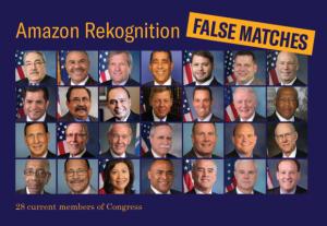 amazon rekognition facial recognition fail congress