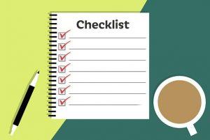 checklist rejection job letter