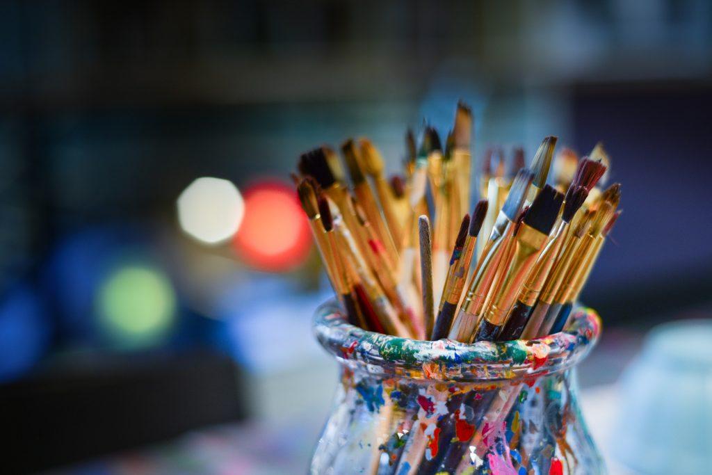 art hobby drawing brush paint