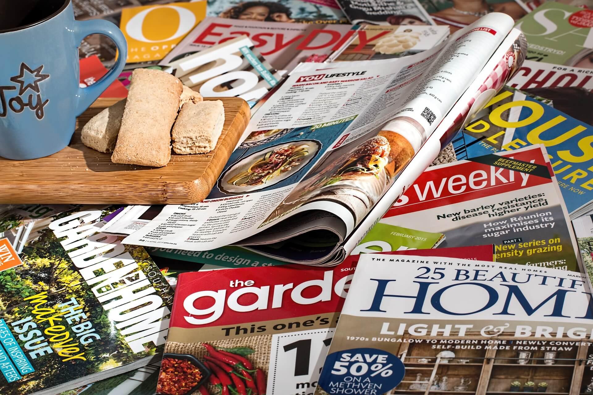 advertisement ads magazine online awareness sale